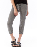 01985E1 Alternative Ladies' Cropped Eco-Jersey Pant