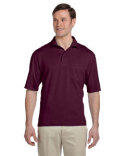 436P Jerzees Adult 5.6 oz., SpotShield™ Pocket Jersey Polo