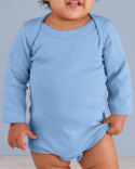 4411 Rabbit Skins Infant Long-Sleeve Bodysuit