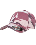6977CA Flexfit Adult Cotton Camouflage Cap