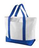 7006 UltraClub by Liberty Bags Bay View Giant Zippered Boat Tote