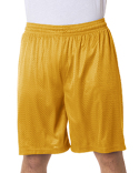 7209 Badger Adult Nine Inch Inseam Mesh/Tricot Short