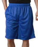 7219 Badger Adult Nine Inch Inseam Mesh/Tricot Short with Pockets