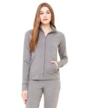 807 Bella + Canvas Ladies' Cotton/Spandex Cadet Jacket