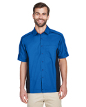 87042 Ash City - North End Men's Fuse Colorblock Twill Shirt