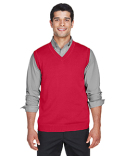 D477 Devon & Jones Adult V-Neck Vest