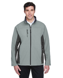D997 Devon & Jones Men's Soft Shell Colorblock Jacket