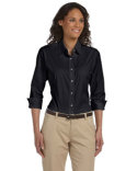 DP625W Devon & Jones Ladies' Perfect Fit™ Three-Quarter Sleeve Stretch Poplin Blouse