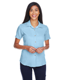 M570W Harriton Ladies' Bahama Cord Camp Shirt