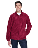M990 Harriton Men's 8 oz. Full-Zip Fleece
