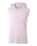 N3410 A4 Men's Cooling Performance Sleeveless Hooded T-shirt