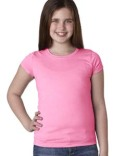 N3710 Next Level Youth Girls' Princess T-Shirt