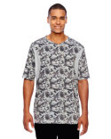 TT12 Team 365 Men's Short-Sleeve Athletic V-Neck Tournament Sublimated Camo Jersey